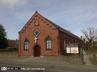 Calow United Reformed Church, Calow (2) (101k)