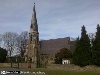St Peter's Church, Calow (1) (105k)