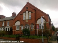Central Methodist Church, Whitwell (1) (99k)
