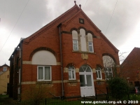 Central Methodist Church, Whitwell (2) (94k)
