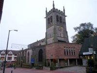 St Peter's Church, Derby (1) (77k)