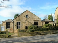 Padfield Independent Chapel (now Congregational Church), Padfield, Glossop (1) (63k)