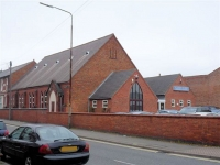Walbrook Road School Chapel (now ANFC Christian Fellowship), Normanton, Derby (78k)