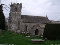 St Andrew's Church, Miserden (1) (76k)