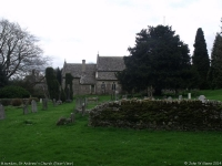 St Andrew's Church, Miserden (6) (69k)
