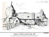 The Old Church (Ruins), Gretton, Winchcombe (82k)