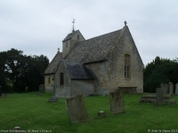 St Mary's Church, Great Washbourne (1) (58k)