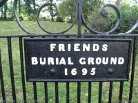 Quaker Burial Ground, Shortwood, Nailsworth (1) (123k)