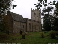 St Andrew's Church, Aston Blank (Cold Aston) (1) (95k)