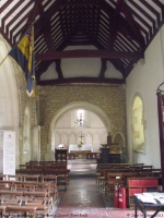 St Swithun's Church, Brookthorpe (5) (77k)